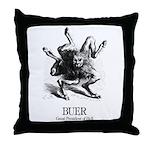 Buer Throw Pillow