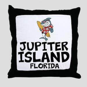 Jupiter Island, Florida Throw Pillow