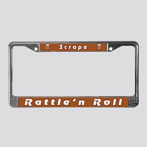 Rattle'n Roll License Plate Frame