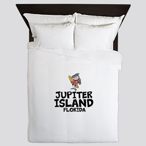 Jupiter Island, Florida Queen Duvet