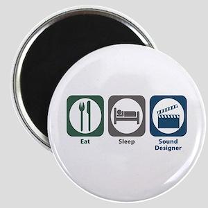 Eat Sleep Sound Designer Magnet