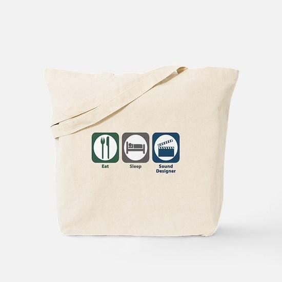 Eat Sleep Sound Designer Tote Bag