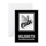 Belzebuth Greeting Cards (Pk of 10)