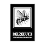 Belzebuth Mini Poster Print