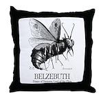 Belzebuth Throw Pillow