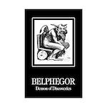 Belphegor Mini Poster Print