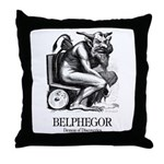 Belphegor Throw Pillow