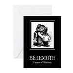 Behemoth Greeting Cards (Pk of 10)