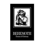 Behemoth Mini Poster Print