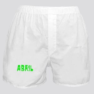 Abril Faded (Green) Boxer Shorts