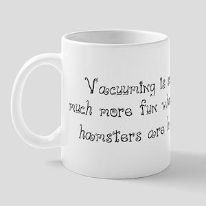 Hamster Vacuuming Mug