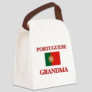 Portuguese Grandma Canvas Lunch Bag