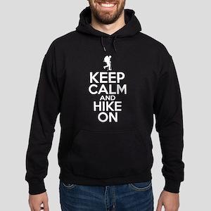 Keep Calm And Hike On Sweatshirt