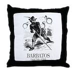 Barbatos Throw Pillow