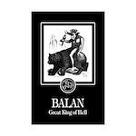 Balan Mini Poster Print