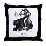 Balan Throw Pillow