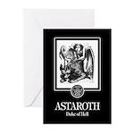 Astaroth Greeting Cards (Pk of 10)
