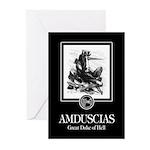 Amduscias Greeting Cards (Pk of 10)