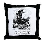 Amduscias Throw Pillow