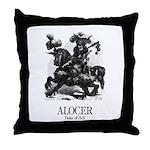 Alocer Throw Pillow