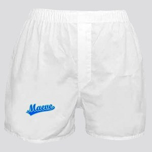 Retro Maeve (Blue) Boxer Shorts