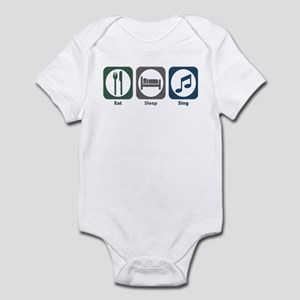 Eat Sleep Sing Infant Bodysuit