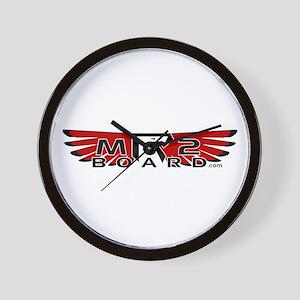 MR2Board's Red Wall Clock