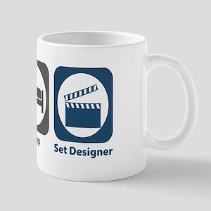 Eat Sleep Set Designer Mug
