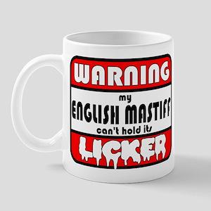 English Mastiff LICKER Mug