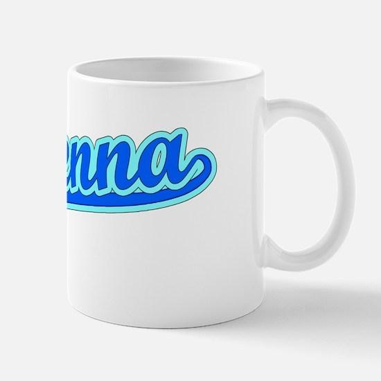 Retro Makenna (Blue) Mug