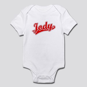 Retro Jody (Red) Infant Bodysuit