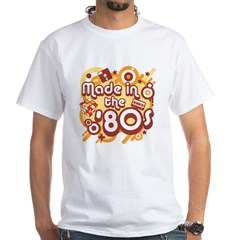 Made In The 80s White T-Shirt