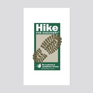 Hike for Discovery Rectangle Sticker