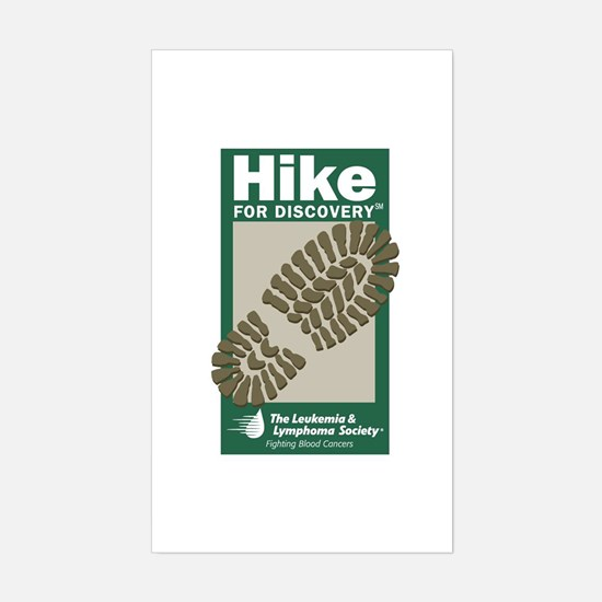 Hike for Discovery Rectangle Decal