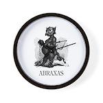 Abraxas Wall Clock