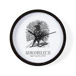 Adramelech Wall Clock