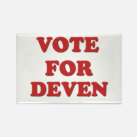 Vote for DEVEN Rectangle Magnet