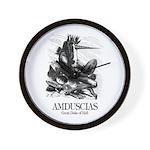 Amduscias Wall Clock