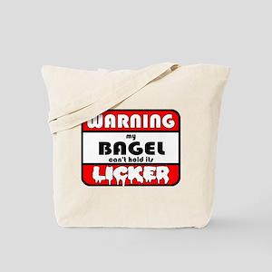 Bagel LICKER Tote Bag
