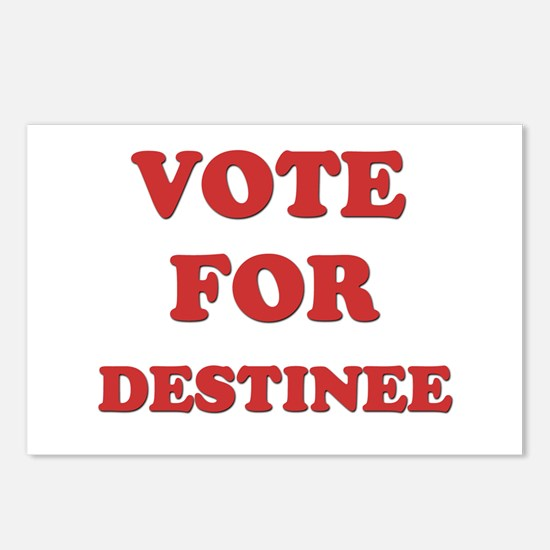 Vote for DESTINEE Postcards (Package of 8)