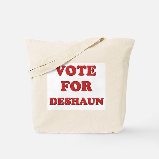 Vote for DESHAUN Tote Bag