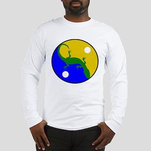 Yin Yang Gecko Long Sleeve T-Shirt