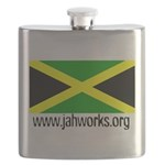 Jahworks Jamaican Flag Flask