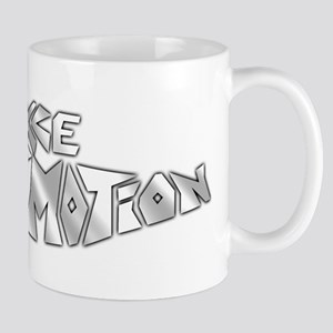 sparkkle motion flat large Mugs