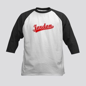Retro Jordon (Red) Kids Baseball Jersey