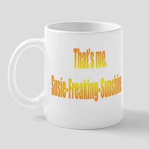 Susie-Freaking-Sunshine Mug