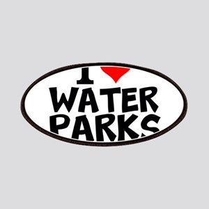 I Love Water Parks Patch