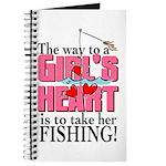 Fishing - Way to a Girl's Heart Journal