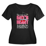Fishing - Way to a Girl's Heart Women's Plus Size