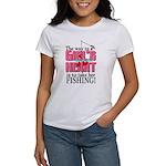 Fishing - Way to a Girl's Heart Women's T-Shirt